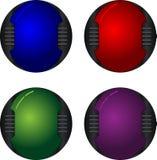 botões da Olá!-tecnologia Fotografia de Stock Royalty Free