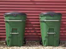 Botes de basura Imagen de archivo libre de regalías