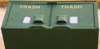 Botes de basura Imagen de archivo