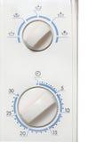 Botões do forno de microonda Fotos de Stock Royalty Free