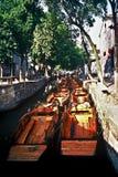 Botes pequeños, China Foto de archivo