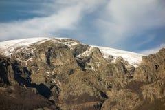 Botev peak. Central balkan national park, Stara planina mountain, Bulgaria. Botev peak. Central balkan national park, Stara planina mountain in Bulgaria royalty free stock photography