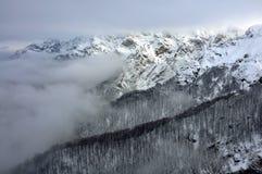 Botev-Spitze, zentrale Balkan-Berge stockbilder