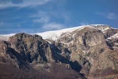 Botev szczyt Środkowy Balkan park narodowy, Stara planina góra, Bułgaria obrazy stock