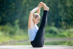 Both Big Toe posture Stock Photo