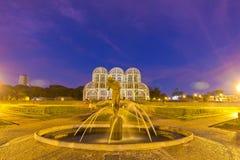 Bothanical trädgård, Curitiba, Brasilien Arkivbilder