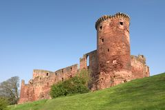 Bothwell城堡 免版税库存照片
