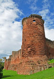Bothwell Castle in Scotland. The South East Tower of Bothwell Castle that was built in the 13th century by the ancestors of Clan Murray to guard a strategic Stock Photography