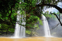 Boti Falls, Ghana Stock Foto's
