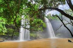 Boti Falls, Ghana Fotografia Stock Libera da Diritti