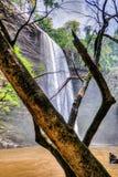 Boti Falls, Ghana Immagini Stock Libere da Diritti