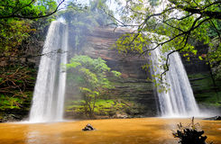 Boti Falls, Ghana stock photo