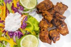 Boti Kebab, tradicionalmente mais no espeto da especiaria do mundo Imagens de Stock