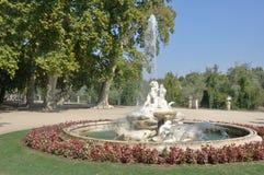 Boticaria fountain at Isla garden, Aranjuez Stock Photography