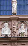 Boticario Mirador en la ciudad de Lemgo, Alemania foto de archivo libre de regalías