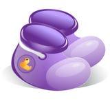 Botines del bebé libre illustration