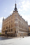 Botines house in Leon - Spain Royalty Free Stock Photo