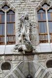 Botines pałac w Leon, Castilla y Leon Zdjęcia Stock
