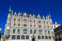 Botines Palace Stock Photography