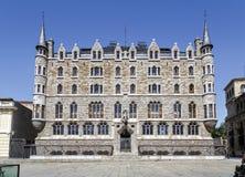 Botines Palace in Leon, Castilla y Leon Stock Photo