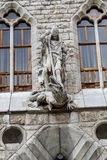 Botinespaleis in Leon, Castilla en Leon Stock Foto's