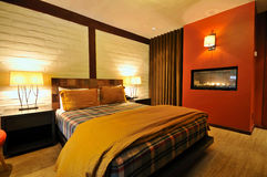 botique旅馆客房 库存图片