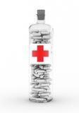 botle ιατρική Στοκ φωτογραφία με δικαίωμα ελεύθερης χρήσης