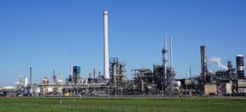 Botlek industriezone, Rotterdam, Nederland royalty-vrije stock afbeeldingen