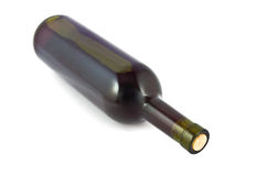 botlle κόκκινο κρασί Στοκ Φωτογραφίες