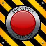 Botón de la emergencia Imagen de archivo libre de regalías