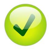 Botón de la señal Imagen de archivo