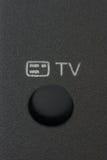 Botón de la TV Imagenes de archivo