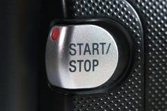 Botón de paro de comienzo Fotos de archivo libres de regalías