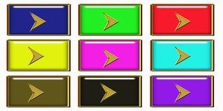 Botón siguiente del Web Imagen de archivo libre de regalías