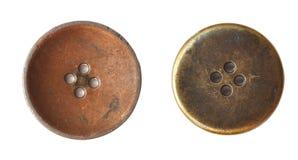 Botón viejo Imagenes de archivo