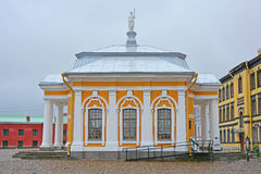 Botny house in Peter and Paul Fortress in Saint Petersburg, Russia Royalty Free Stock Image