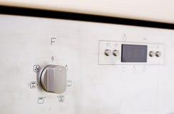 Botão do forno Fotografia de Stock Royalty Free