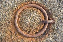 Botão oxidado do poder Imagem de Stock