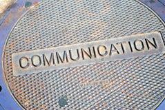 Botola di comunicazioni Immagine Stock