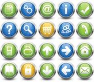 Botones Imagen de archivo libre de regalías