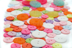 Botones Foto de archivo libre de regalías