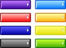 Botones. ilustración del vector