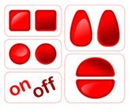 Botones brillantes Libre Illustration