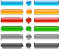 Botones brillantes. stock de ilustración