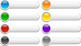 Botones brillantes. libre illustration