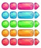 Botones brillantes coloridos lindos libre illustration