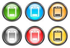 Botones brillantes del Internet Fotografía de archivo libre de regalías