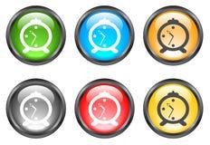 Botones brillantes del Internet Foto de archivo libre de regalías