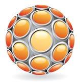 Botones calientes de la esfera Imagenes de archivo