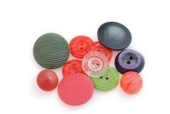 Botones coloreados Foto de archivo libre de regalías
